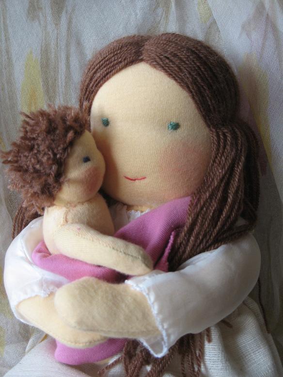 Как сделать большую куклу своими руками